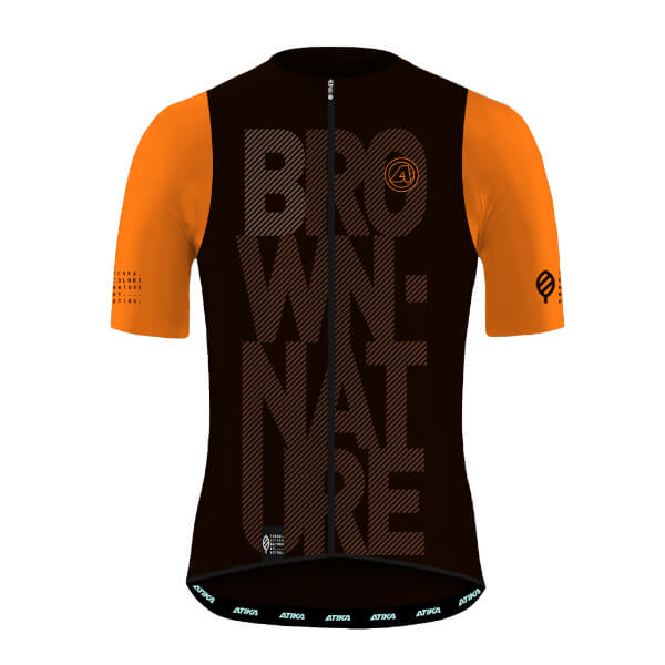 Maillot Corto Terra Nature Brown