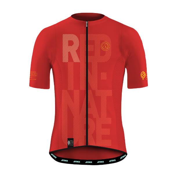 Maillot Corto Terra Nature Red