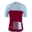 Maillot-Ciclismo-Aqua-Azul-Granate-Trasera